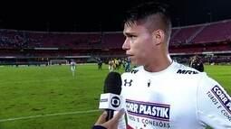 """""""Nunca deixei de confiar no meu trabalho"""" diz Luiz Araújo autor do segundo gol do tricolor"""