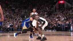 Drible com cesta de Stephen Curry é a jogada do dia da NBA