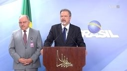 Raul Jungmann afirma que Temer considera que foi restaurada a ordem e o respeito humano