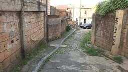 Líder comunitário cobra obra de rua no Barreiro, em BH