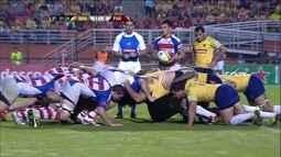 Melhores momentos de Brasil 57 x 6 Paraguai pelo Sul-americano de Rúgbi