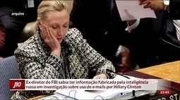 Comey sabia de documento fabricado pelo governo russo em investigação sobre Hillary