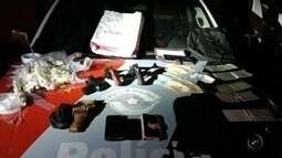 Quadrilha é detida após série de assaltos com reféns em cidades da região