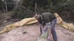 Carmo Dalla Vecchia ajuda na construção de escola verde