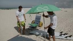 Paulinho Vilhena é o voluntário do Adaptsuf