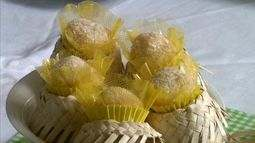 Aprenda como preparar um delicioso brigadeiro com milho e coco