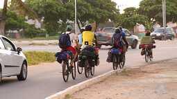 Ciclista baiana é atropelada na ponte Newton Navarro, em Natal