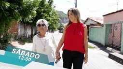 Chamada: Conheça a história da ex parteira Claudina no Destaque VM deste sábado (24)