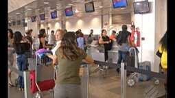 Há três anos vem caindo o número de voos partindo de Belém no mês de julho