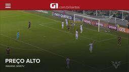 G1 em 1 Minuto Santos: Derrota para o Sport faz Santos perder posições no Brasileirão