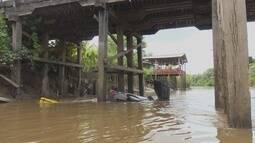Quatro pessoas morrem em acidente de trânsito em ponte da rodovia AP-070