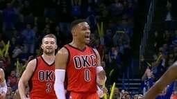 Russel Westbrook é eleito o MVP da temporada regular da NBA