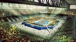 Arena da Baixada é preparada para virar a casa do vôlei na Liga Mundial