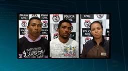 Presos filhos e nora da mulher que ficou conhecida como vovó do tráfico em CG