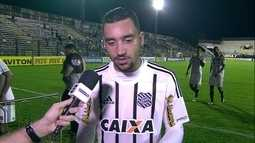 Robinho ressalta importância da vitória para o Figueirense