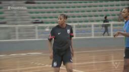 Atleta de Praia Grande é convocada para a seleção brasileira de basquete