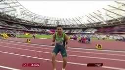 Mateus Evangelista ajuda o Brasil no quadro de medalha do Mundial de Atletismo Paralímpico