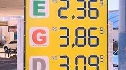 Preços dos combustíveis têm aumento na região