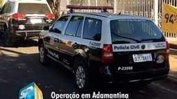 Polícia realiza operação com foco no Detran de Adamantina