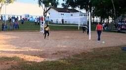 Jogos Regionais têm início em Osvaldo Cruz