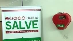 'Projeto Salve' acompanhou implantação de um desfibrilador na capital