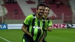 Os gols de América-MG 4 x 2 Figueirense pela 16ª rodada do Campeonato Brasileiro Série B