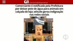 Comerciante em Petrópolis que havia sido notificada pela prefeitura, tem a multa retirada