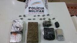 Após denúncias, quatro pessoas são detidas com maconha e cocaína em Bocaiuva
