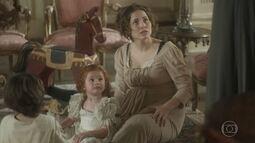 Leopoldina descobre que Anna saiu sozinha