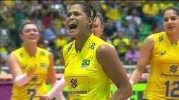 Brasil bate os EUA e garante vaga na fase final do Grand Prix de vôlei feminino