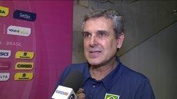 Brasil se classifica para fase final do Grand Prix, mas Zé Roberto não está satisfeito