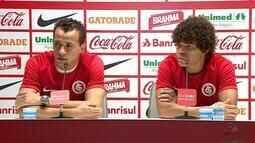 Damião e Camilo são apresentados no Internacional