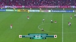 Batista elogia intensidade do Internacional na vitória por 2 a 0 sobre o Oeste