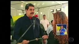 Maduro condecora 13 autoridades venezuelanas que sofreram sanções dos EUA