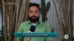 Festa do Gesso será realiza em Trindade, no Sertão de Pernambuco