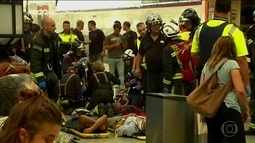 Cinquenta e seis pessoas ficaram feridas em acidente com trem na Espanha