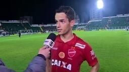 """Alípio, sobre Vila Nova no G4: """"Recompensa de um trabalho árduo"""""""