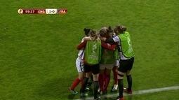 Os gols de Inglaterra 1 x 0 França pela UEFA Euro de Futebol Feminino