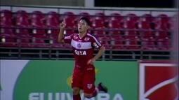 Os gols de CRB 2 x 1 América-MG pela 19ª rodada da Série B do Brasileirão