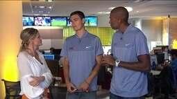 Após Mundial, Evandro e André falam de metas no vôlei de praia