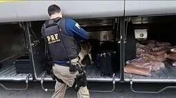 Jogador colombiano de futebol de areia é preso por transporte de drogas
