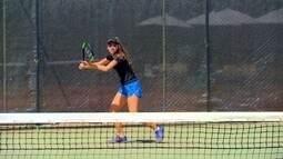 Tenista de Brasília é convidada para treinar nos Estados Unidos