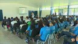 Palestra motiva estudantes amapaenses para a Olimpíada do Conhecimento 2017
