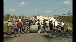 Moradores de Eldorado dos Carajás bloqueia rodovia pelo segundo dia consecutivo
