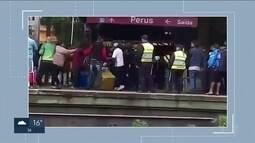 Ambulantes dizem ter sido agredidos por seguranças da CPTM