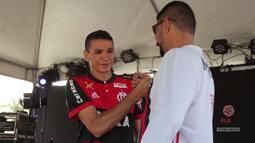 FLA TV - Ronaldo Angelim participa do Gávea Gourmet Food Park