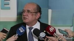 MPF pede impedimento do ministro Gilmar Mendes para julgar Jacob Barata