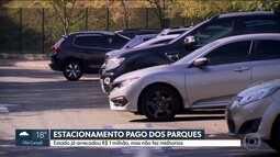 Moradores dizem que arrecadação com estacionamentos não foi revertida em melhorias