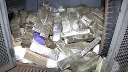 PM apreende 187kg de drogas em uma casa em Grussaí, no Rio