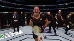 Após conquistar cinturão peso-pena do UFC, Cris Cyborg já pensa no futuro